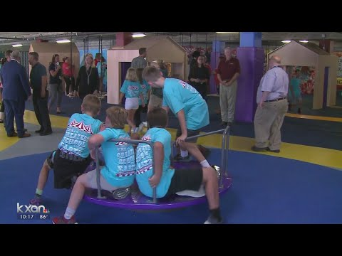 Round Rock Elementary school adds all-inclusive play structure