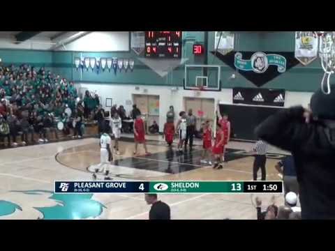 Sheldon Boys Basketball Vs PGHS 2020_01_17