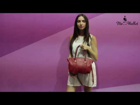 Видеозапись Кожаные сумки Fidelitti. Коллекция Осень-Зима 2016/2017