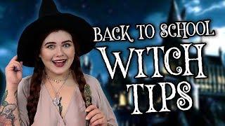 BACK TO SCHOOL WITCH TIPS - Poradnik dla Czarownic