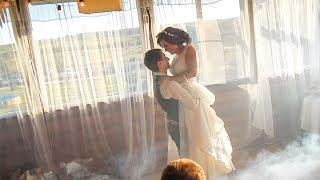 Трогательный свадебный танец Лизы и Саши