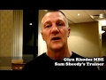 "GLYN RHODES MBE ""SHEEDY- FROM BABY TO COMMONWEALTH CHAMP,  I'M PROUD!"""