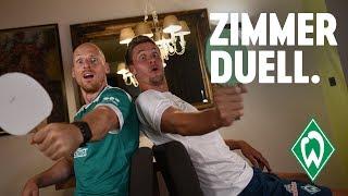 ZIMMERDUELL: Sebastian Langkamp & Tobias Duffner | SV Werder Bremen
