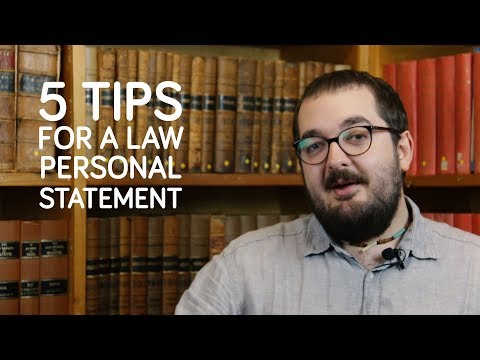 What To Put In A Law Personal Statement - Newcastle University