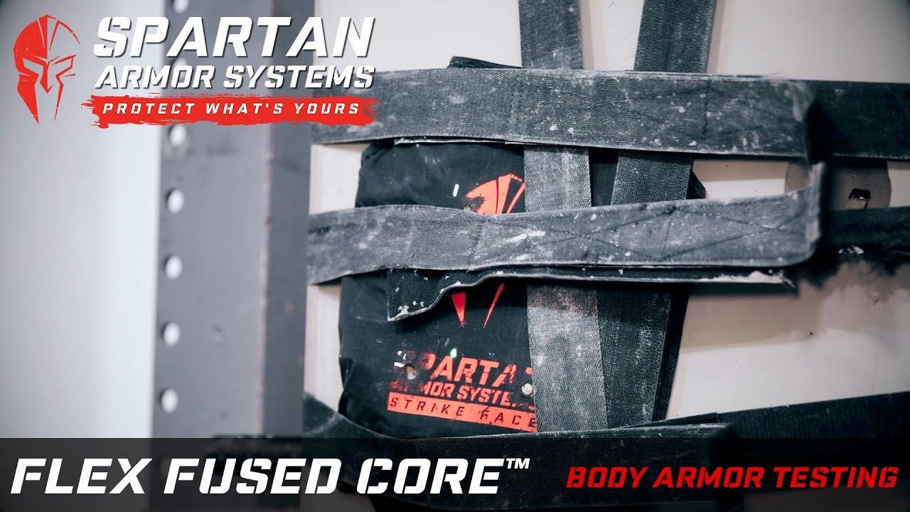 FLEX Fused Core Level IIIA Soft Body Armor - Spartan Armor Systems