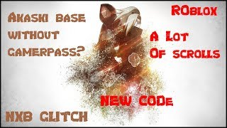 New CODE And how to glitch into Akaski base [056] Beyond | Roblox