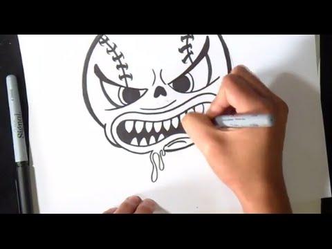 Wie zu zeichnen ballcharakter youtube for Immagini di cavalli da disegnare