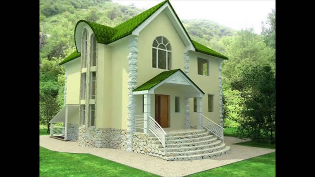 House Design Outside View - YouTube