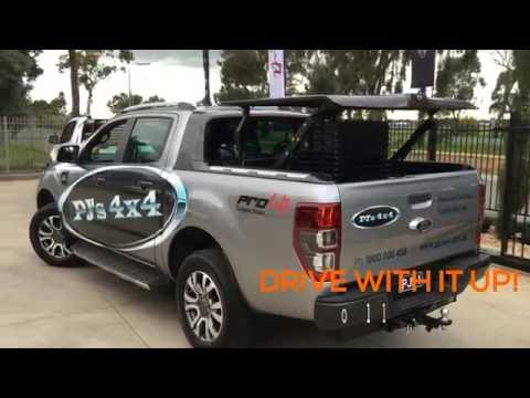Ford Ranger Wildtrak TopUp ute lid | PJ's 4x4