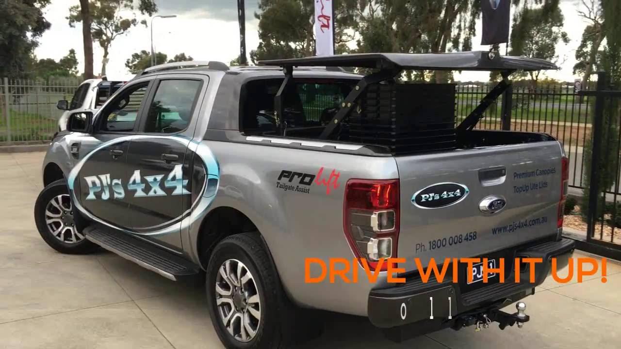 Ford Ranger 2019 >> Ford Ranger Wildtrak TopUp ute lid | PJ's 4x4 - YouTube