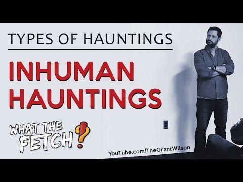 Types of Hauntings: Inhuman