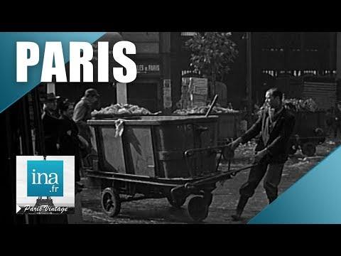 Vues de Paris en 1950   Archive INA