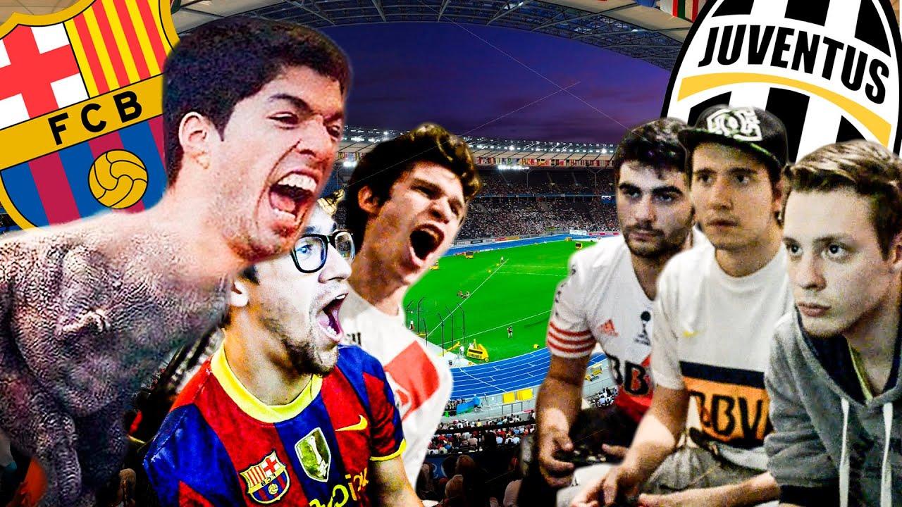 BARCELONA vs JUVENTUS | PES 2015 | Final Champions League ...