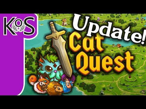 Cat Quest: END-GAME UPDATE!  - Punny Kitty RPG! - Let's Play, Gameplay