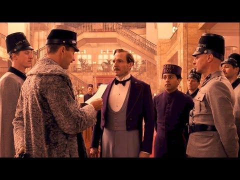 """You're Under Arrest"" THE GRAND BUDAPEST HOTEL Movie Clip # 2"