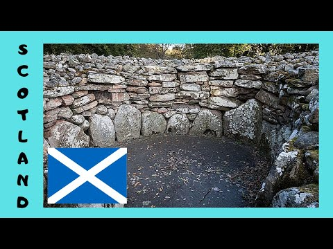 SCOTLAND, a pre-historic tomb in the INVERNESS area (over 4,000 years old)