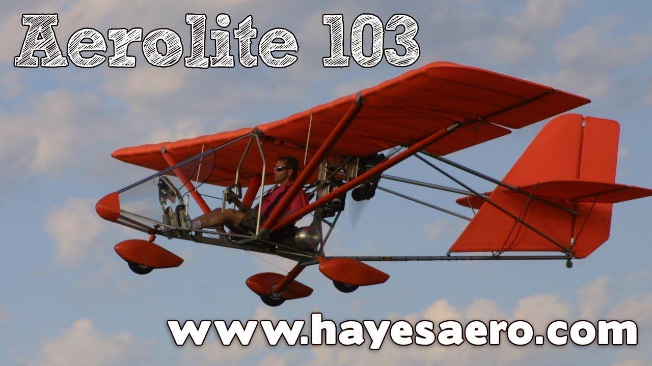 Aerolite, Aerolite 103 ultralight aircraft, Aerolite experimental aircraft,  Hayes Aero Michigan