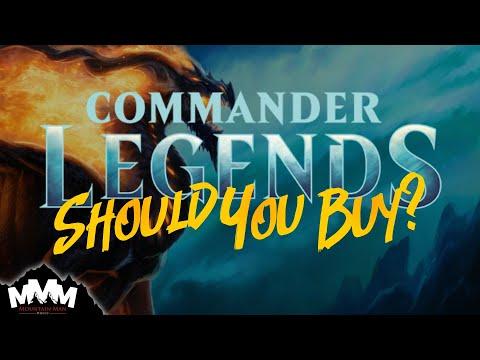 WAIT! Should You REALLY Buy MtG Commander Legends? CMR Product Buy Guide: Packs, Decks, and Singles
