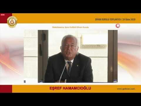Eşref Hamamcıoğlu Galatasaray Spor Kulübü, temsil edilme yeteneğini kaybetmiştir