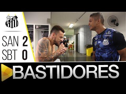 Santos 2 x 0 São Bento | BASTIDORES | Paulistão (16/04/16)