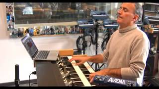 Fly Me to the Moon - Massimo Bonomo play with Viscount Legend Live & Hammond Leslie 2101 MkII