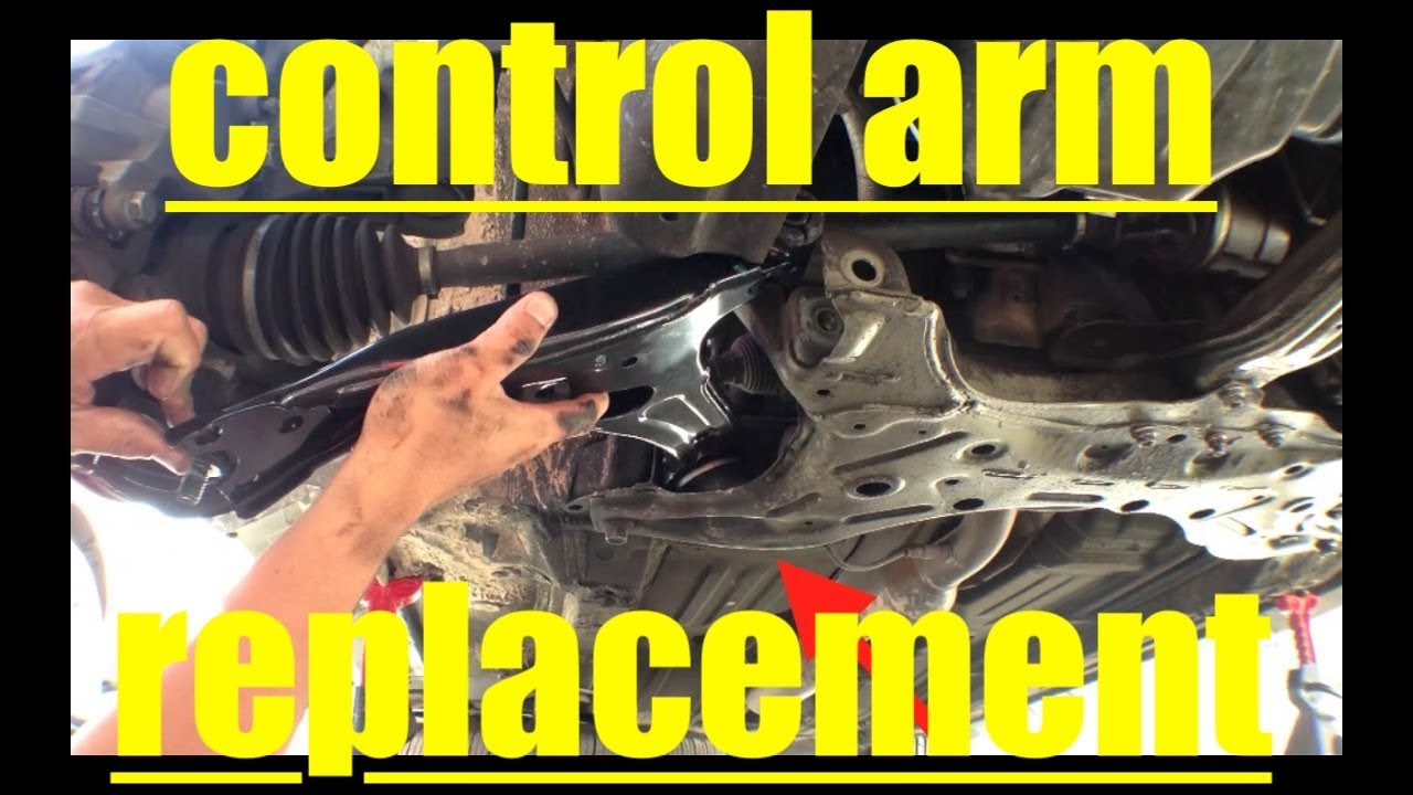 Diagnose Lower Control Arm Replacement '03'08 Toyota