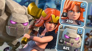 Golem + Valkyrie Best Army For TH8,TH9,TH10,TH11 - Clash of Clans