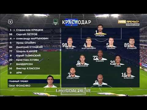 Krylya Sovetov Samara - FK Krasnodar 0-3