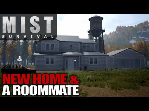 NEW HOME & A ROOMMATE & STEALTH ATTACKS | Mist Survival Let's Play Gameplay | S01E05