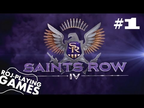Święty Rów uderza znów! - Saints Row IV #1 (Roj-Playing Game