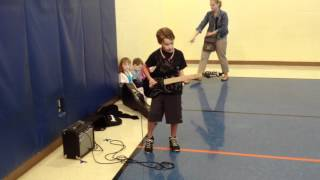 2012-04-17 Jarrett at Twin Chimney Talent Show Tryout
