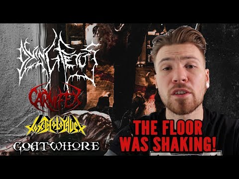 The Metal Tris Live(s)  - Dying Fetus, Carnifex, Toxic Holocaust and Goatwhore - London 13/08/2018