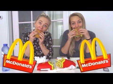 MC DONALDS MUKBANG (NL) | REALTIME/UNCUT | Sophie Hol |