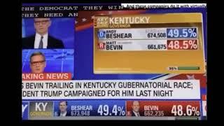 미국 부정선거 빼박영상- CNN 개표중 일어나는 표갈기…