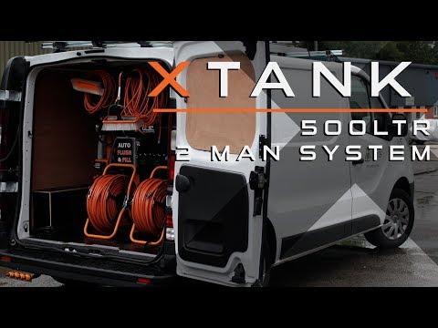 XTank Walk-around - 500Ltr 2 man - Renault Trafic