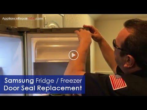 Samsung Refrigerator Door Seal Replacement - DIY Video