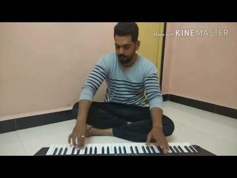 Vajale ki bara ( use earphone)marathi song .. ( keyboard cover )