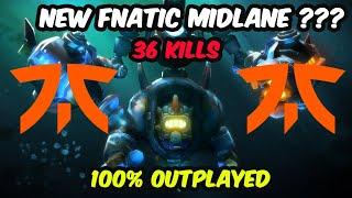 New Fnatic MIDLANE ??? - MAĠIC BURST 100% Outplayed Enemy Dota 2 pro gameplay