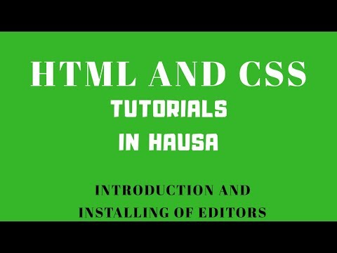 1 Installing Text Editor | HTML And CSS Tutorial For Beginners