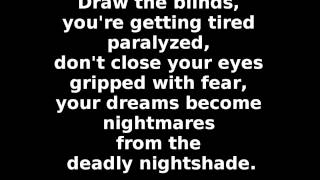 Megadeth - Deadly Nightshade (lyrics)