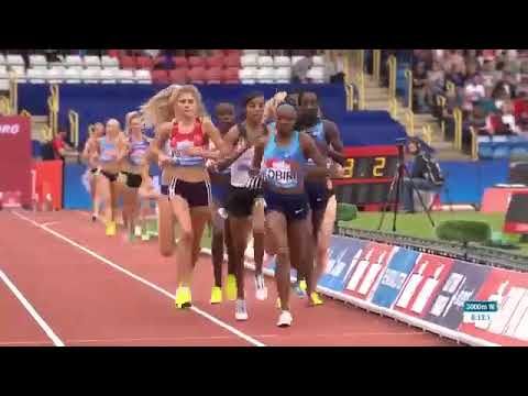 Womens 3,000m Birmingham Diamond League 2017