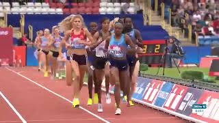 Womens 3,000m Birmingham Diamond League 2017
