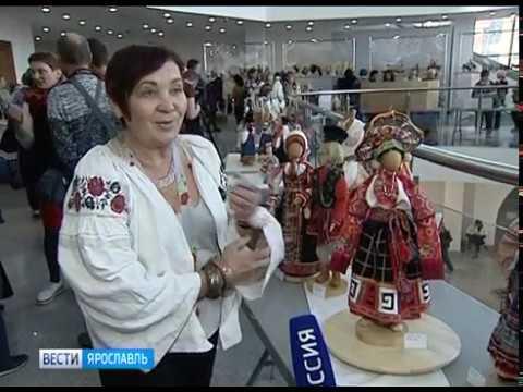 Видео «Русский костюм на рубеже эпох»: в Ярославле проходит Всероссийский фестиваль