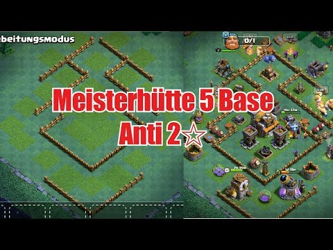 Meisterhutte 5 Base Anti 2 Sterne Let S Play Clash Of Clans Youtube