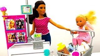 Мультик Барби: Штеффи в магазине. Видео для девочек