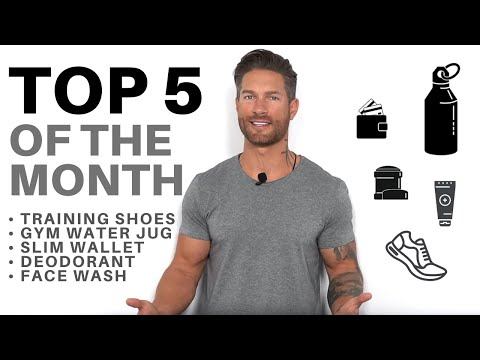 TOP 5 PICKS – Anti-Aging Face Wash, Slim Wallet, Non-Irritant Deodorant, Training Shoes, Water Jug