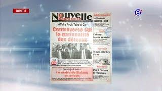 LA REVUE DES GRANDES UNES DU LUNDI 14 JANVIER 2019 - ÉQUINOXE TV