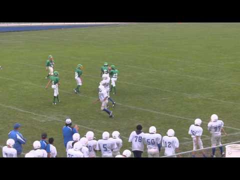 Cooper Wilson.Big Catch...#24..Adrian Football 7th Grade..2013