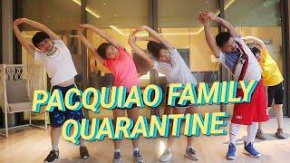 PACQUIAO FAMILY QUARANTINE | Jimuel Pacquiao