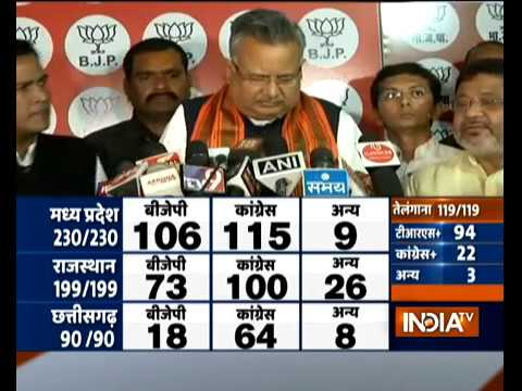 I take full responsibility for the BJP's defeat in Chhattisgarh assembly poll: Raman Singh